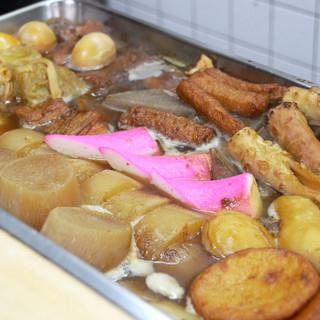 出汁がきいた関東煮