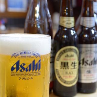 生ビール大瓶350円!!