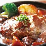 アンジュ - 国産牛煮込みハンバーグ