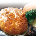 アンジュ - 国産大豆の豆腐ハンバーグ
