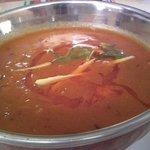 インド料理 ギタ - Aランチ-チキンとカボチャのカレー(2辛)