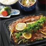 長崎・佐世保名物 鉄板レモンステーキ膳
