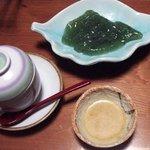 268354 - 茶碗蒸しと刺身こんにゃく