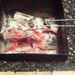 268356 - ニジマス炭火焼き