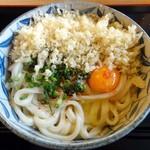 讃岐うどん 源八 - 玉子醤油うどん(大)
