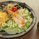 めん処 和 - 料理写真:サラダうどん(夏期限定)