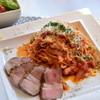 セルクル - 料理写真:イベリコ豚のアマトリチャーナ