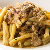 ラ アーニー マリス - 料理写真:シエナ風うさぎ腿肉とマッシュルームのラグー カサレッチェ