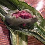手打ち蕎麦  慶俊庵 - 笹団子