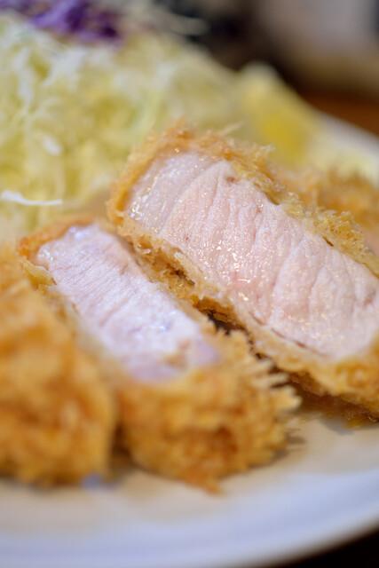 丸五 - ロースカツ定食(ていしよく)