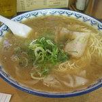 元祖赤のれん 節ちゃんラーメン - ワンタンメン:680円