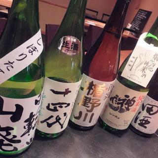 岩手・宮城を中心にいろんな種類のお酒をご用意しております