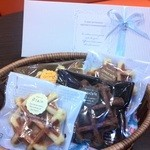 レオニダス - レオニダスチョコレートを使用した小野原店限定の持ち帰りタイプのワッフル ようやく販売再開です