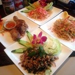 プエンタイレストラン - イサンコースには、メニューに無い【ラープガイ】が食べれます。