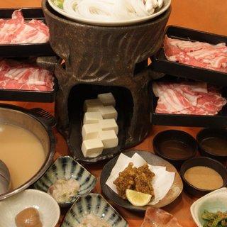 和豚もち豚しゃぶしゃぶ&単品食べ放題コース