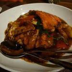 施家菜 -  渡り蟹の豆鼓炒め