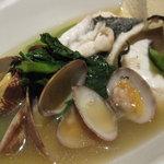 酒彩 SHIN - 白身魚とあさりのだし煮