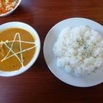 インド料理 カマナ - スペシャルランチ1160円