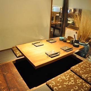 【4名様席の完全個室】×2部屋