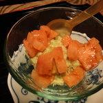 本草円山 - アボカドと蟹のサラダ