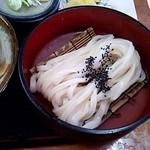 金比羅 - セットのうどん(2014/4)
