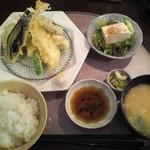 26858801 - 天ぷら定食¥1000☆