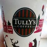 タリーズコーヒー - 2009年クリスマスバージョンのカップ