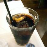 マルエフドットカフェ - 「黒豚の味噌丼」アイスコーヒー
