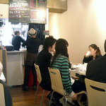 マルエフドットカフェ - 「F.cafe」店内