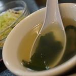 台湾家庭料理 大公 - ワカメスープ