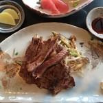 水ひき亭 - ランチ 牛ステーキ御膳
