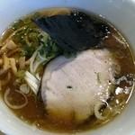 燦虎 - 試作 熟成醤油の鶏そば(仮称)