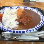 足助の洋食屋 参州楼   - カツカレー