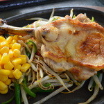 杜のレストラン - チキンステーキ(定食)