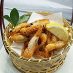杜のレストラン - 甘海老のから揚げ