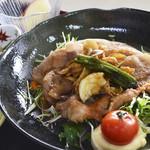 杜のレストラン - 生姜焼き