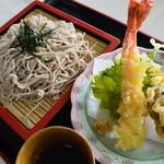 杜のレストラン - 天ぷらそば 冷