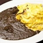 レストラン マヤ - オムレツ黒カレー
