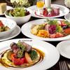 アルティーノ - 料理写真:前菜からデザートまでまでたっぷりと堪能できるコース料理