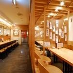 松島 - 掘りごたつ席の店舗入り口側は禁煙席となります