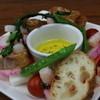 ビアレストラン アリーブ - 料理写真:和賀のアルバさんのえごまディップ