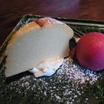 柳庵 - 2014.5)デザートはチーズスフレを選択