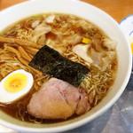 26888896 - ワンタン麺と生卵