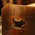 喫茶ルオー - レトロな椅子
