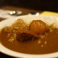 喫茶ルオー-セイロン風カレー(中盛り)