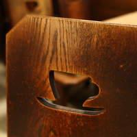 喫茶ルオー-レトロな椅子
