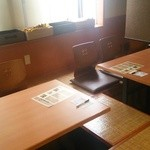 八剣伝 - テーブル席