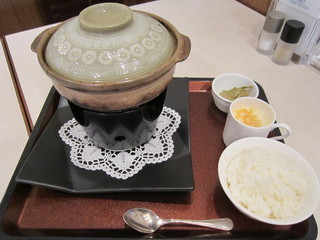 シェフ&シェフ - ランチセット麻婆豆腐 1,188円 ご飯、搾菜、杏仁豆腐付き