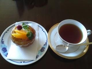 バー シーガーディアンⅢ そごう横浜店 - ケーキセット