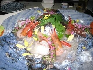蔵人厨 ねのひ 丸の内オアゾ - 刺身三品盛り